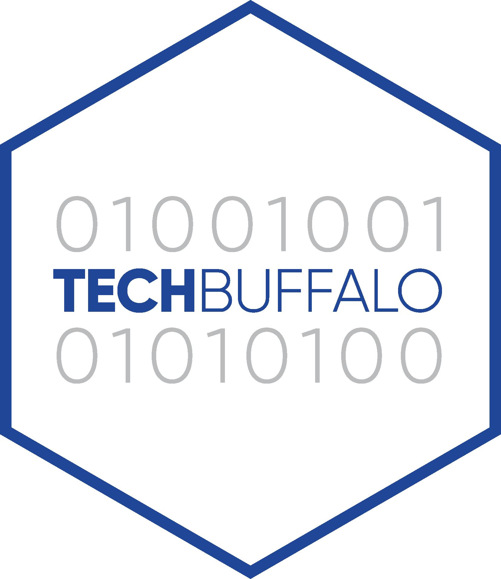 Tech Buffalo Brand Blue OUTLINE CMYK